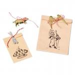 Dekoration für Geschenktüten und Geschenkverpackung