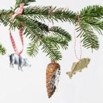 Dresdner Pappe Weihnachtsdekoration für Christbaum
