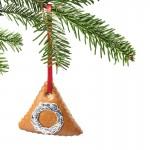 Lebkuchenschmuck Weihnachtsbaumdekoration mit Dresdner Pappe