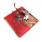 Dresdner Pappe Dekorationsidee für Geschenk