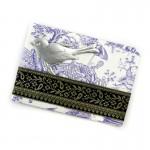 Dresdner Pappe 3D Vogel Dekoration für Geschenkverpackung