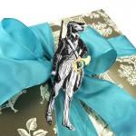 Idee für Geschenkverpackung mit Dresdner Pappe