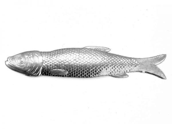 Dresdner Pappe Fisch geprägt wie Metall