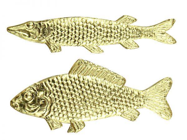 Dresdner Pappe Fische für Dekorationen und basteln