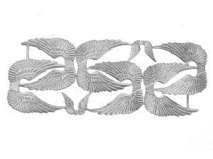 Dresdner Pappe Flügel zwei Größen geprägt