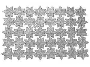 Dresdner Pappe Sterne mit Punkten zum dekorieren