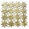 Dresdner Pappe Sterne groß geprägt und gestanzt