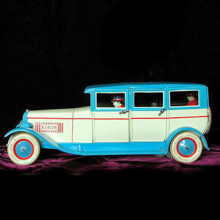 Nostalgisches Spielzeug Blechauto, Blechspielzeug