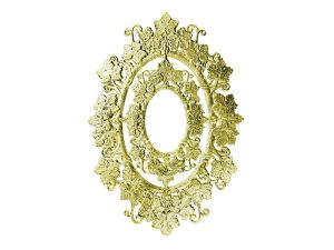 jugendstil ornament gold