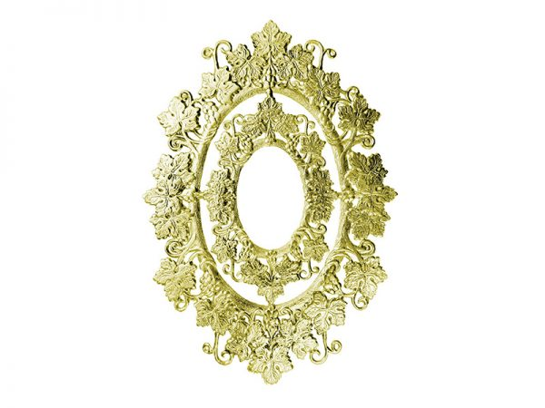 jugendstil ornament gold