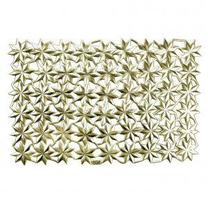 Sterne aus Pappe gold