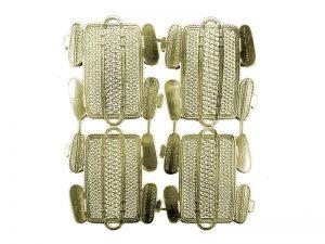 Körbchen aus Goldpapier