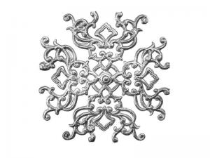 Ornament nach historischer Vorlage silber