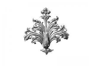 rahmen Ornamente Zierecke silber