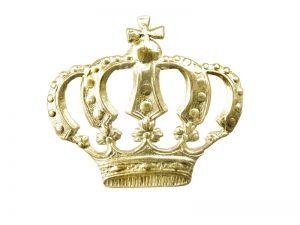 Exklusive Einzelprägungen Krone gold