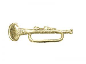 Trompete Detail gold