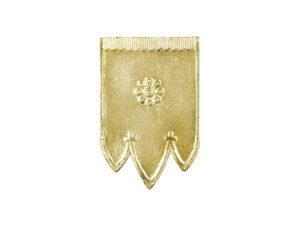 Dresdner Pappen Osterfahnen klein Detail gold