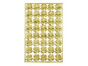 Dresdner Pappen vierblättriges Kleeblatt Bogen gold