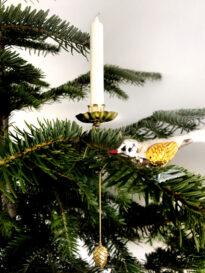 Dresdner Pappen Balance-/Pendelkerzenhalter gold