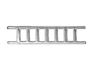 Dresdner Pappen Leiter klein Detail silber