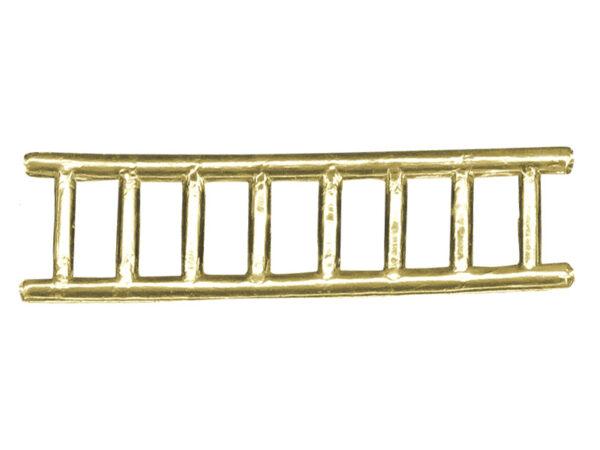 Dresdner Pappen Leiter groß Detail gold
