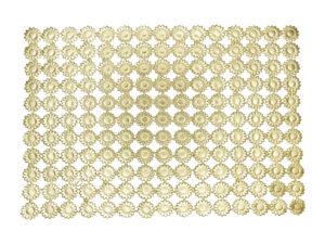 Margeritenblüte klein Dresdner Pappen Bogen gold