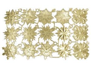 Dresdner Pappen Orden 6 Modelle Bogen gold