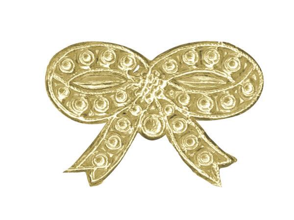 Dresddner Pappen groß Detail gold