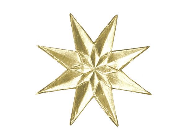 Stern im Stern Dresdner Pappen Detail gold